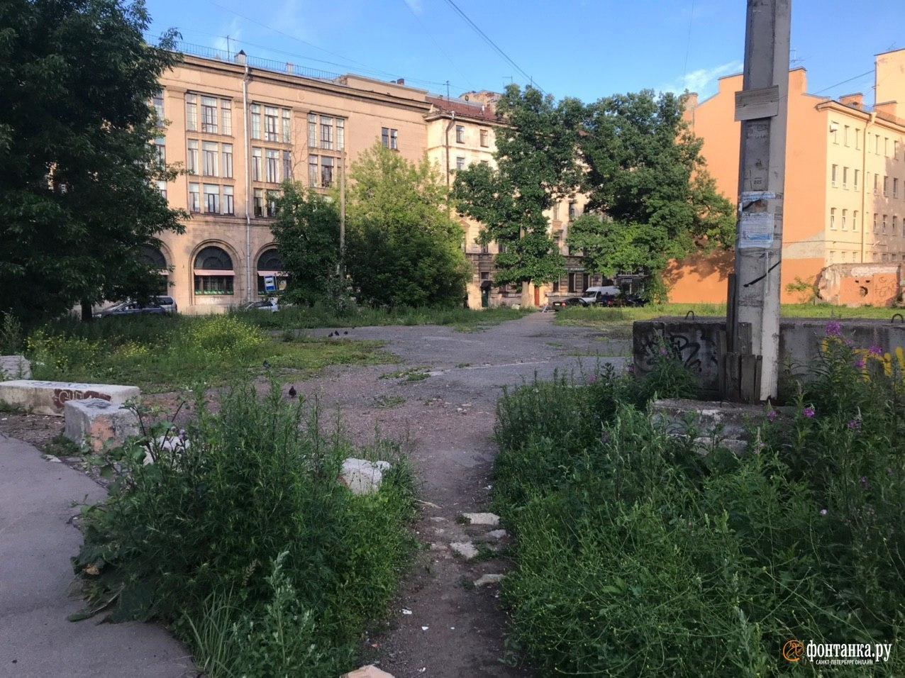 Сытнинская улица<br><br>автор фото Денис Лебедев / «Фонтанка.ру»<br>