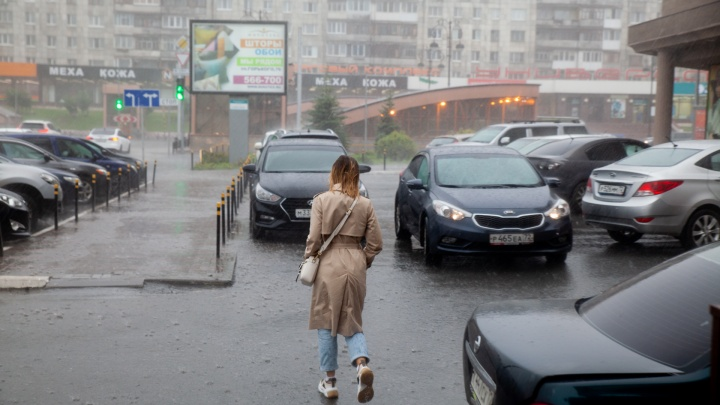 После «засухи» на Тюменскую область надвигаются дожди