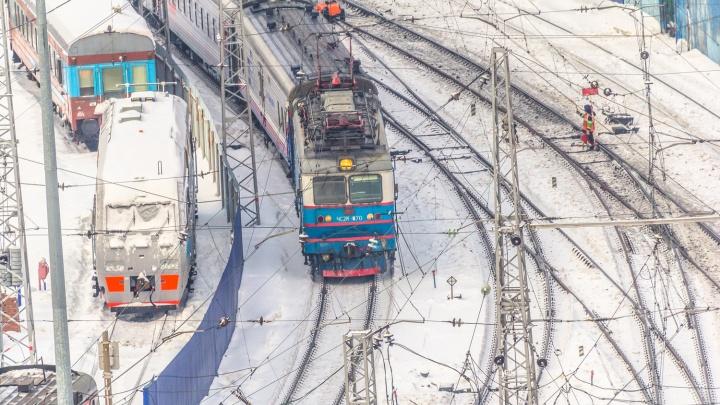 В Кузбассе поезд сбил школьницу. На мать девочки составили административный протокол