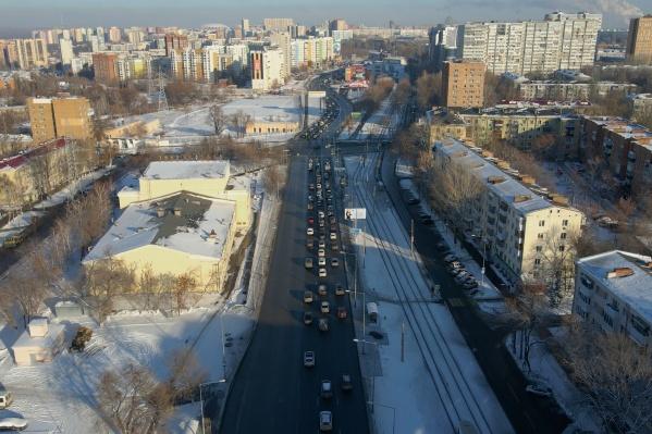Путепровод будет начинаться рядом с ДК «Современник»