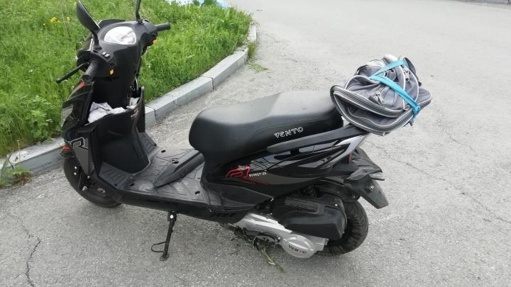Во дворе Свердловского тубдиспансера разбился насмерть повар на скутере