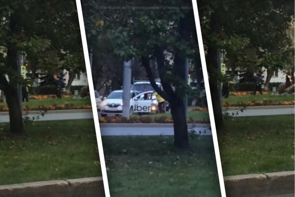 Драка между водителями произошла недалеко от школы