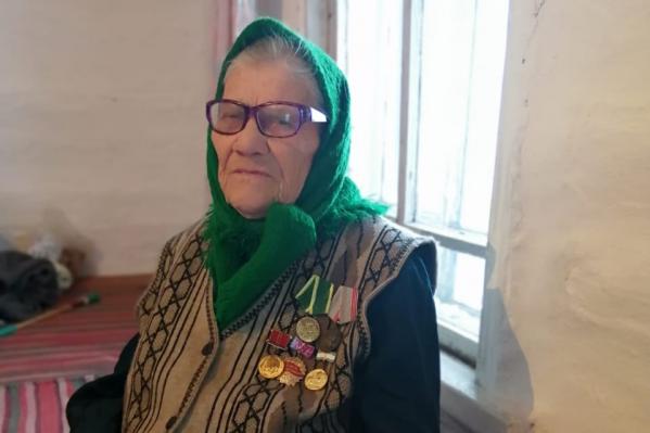 91-летняя женщина мечтает, чтобы ее старания оценили