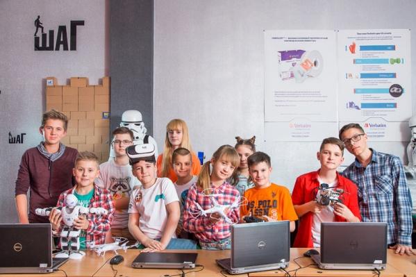 Дети смогут попробовать себя в роли блогера, дизайнера или программиста