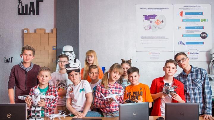 В Челябинске открыли летний городской IT-лагерь для детей
