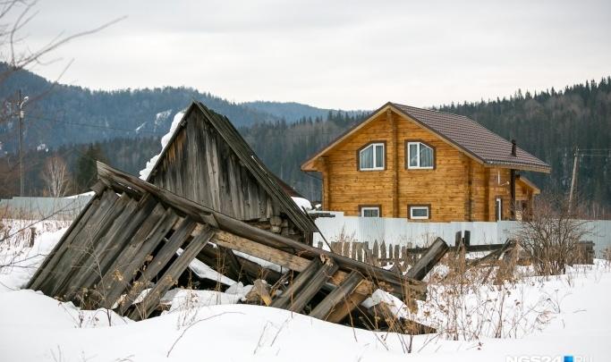 Пожилой дачник-инвалид оказался в снежном плену на своей даче