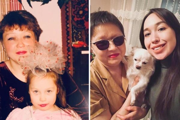 На фото Ольга Золотухина с дочерью Алёной