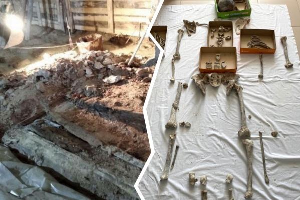 По словам специалистов, череп практически не сохранился, чтобы сделать его 3D-модель
