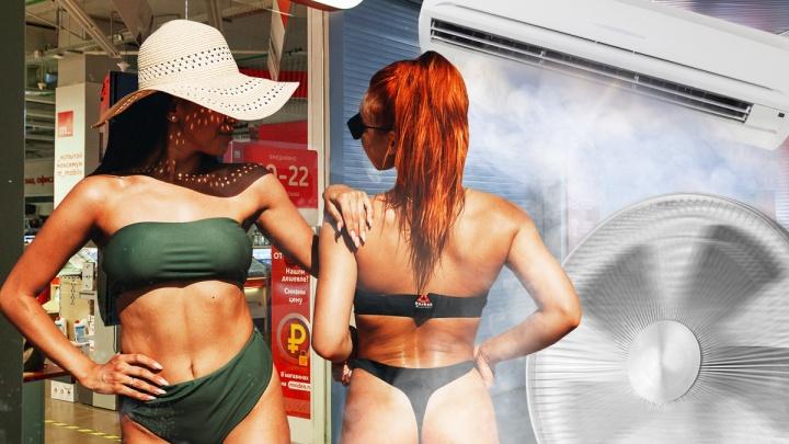 Деньги из (жаркого) воздуха: тюменцы скупают вентиляторы и кондиционеры