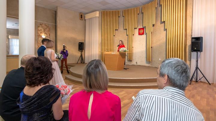 В Самарской области разрешили торжественную регистрацию брака в ЗАГСах