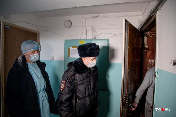 Прилетевших из других стран южноуральцев в течение двух недель проверяют сотрудники полиции, Минздрава и Роспотребнадзора<br>
