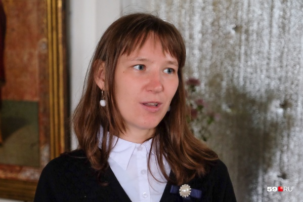 Ирина Пономарева — известная активистка в Оханске