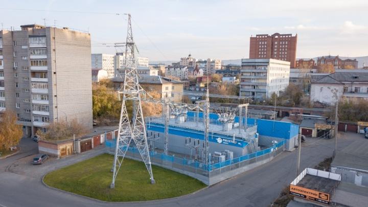 Красноярскую «Молодёжку» оцифровали: реновация энергообъекта позволила снизить аварийность на сетях