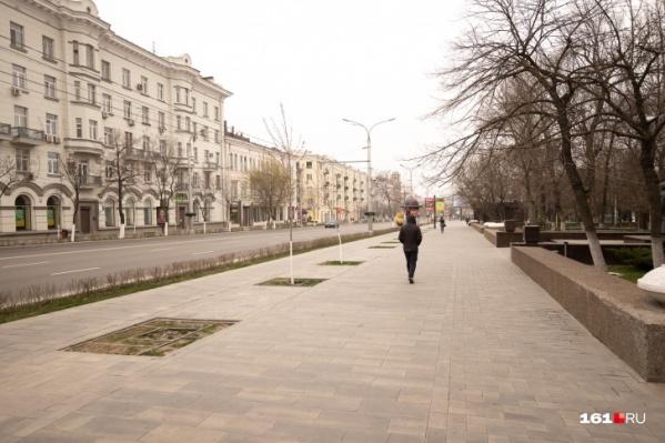 Улицы могут начать обрабатывать в ближайшие выходные