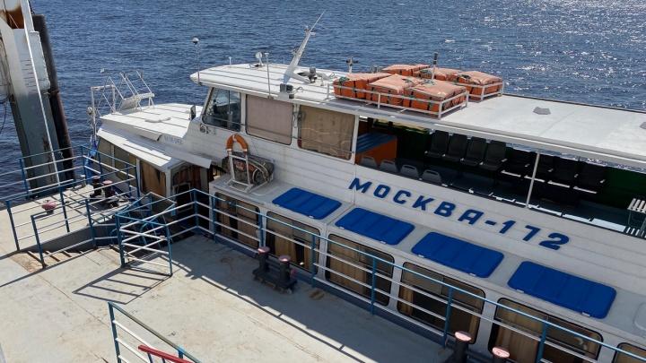Без Зайчиков: в Волгограде сократили маршрут речного трамвая