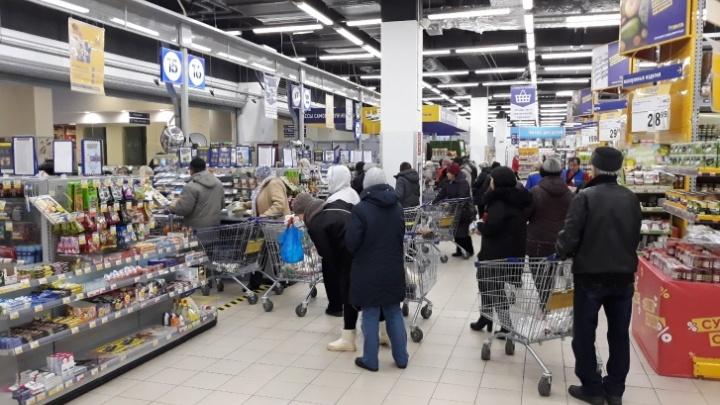 В ТЦ Самары будут работать только продуктовые магазины и аптеки. Остальные отделы — нет