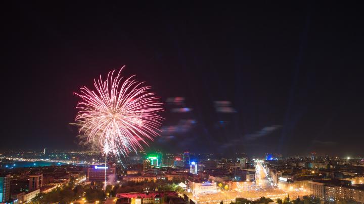 НГС покажет прямую трансляцию салюта в честь парада Победы в Новосибирске