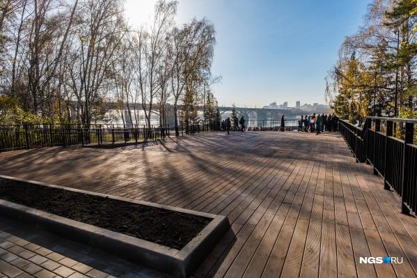 Мэр Новосибирска считает опасным прогулки по паркам и набережной