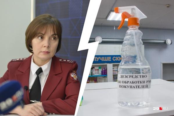 По словам Елены Байдаковой, любой антисептик содержит смертельный метиловый спирт
