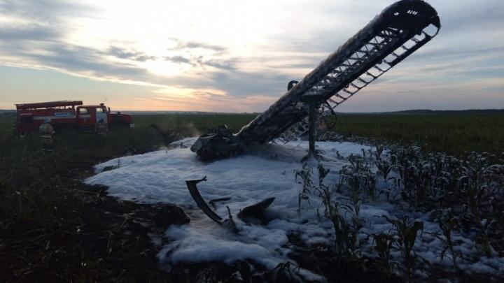 Эксперты назвали причины крушения самолёта Ан-2 с двумя погибшими в Большеболдинском районе