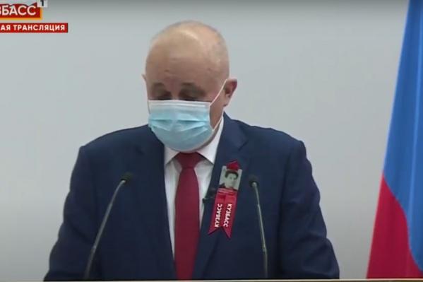 Сергей Цивилёв выступил с Бюджетным посланием