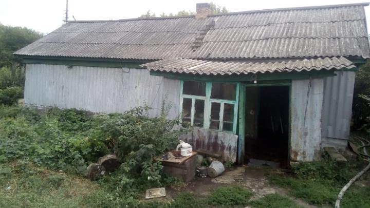 В Нехаевском районе заживо сгорели два человека