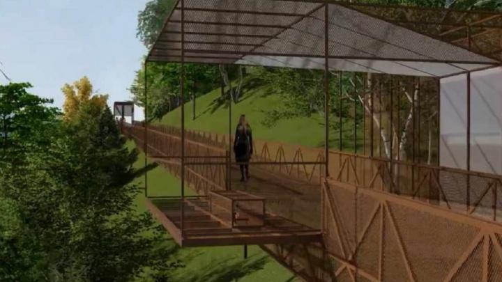 В Перми планируют построить спуск на территорию Завода Шпагина