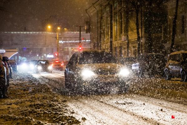 С воскресенья и до середины следующей недели в Ярославле ожидаются снегопады