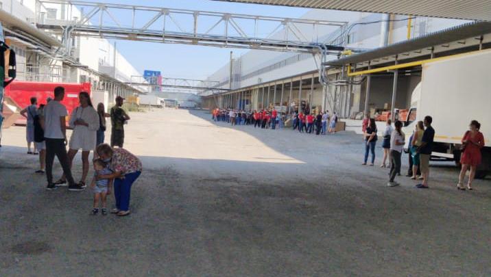 Всех вывели на улицу: в Екатеринбурге эвакуировали «Сима-ленд»
