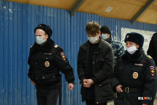 Александр Понкратов признался в поджоге и сотрудничал со следствием