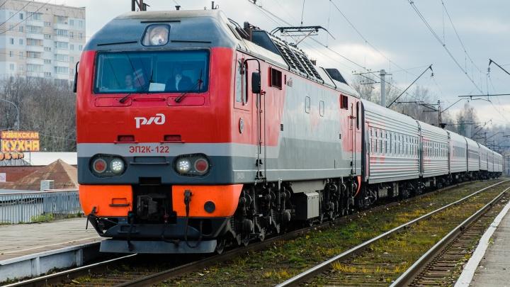 В Прикамье из-за пожара на железной дороге задержались пассажирские поезда