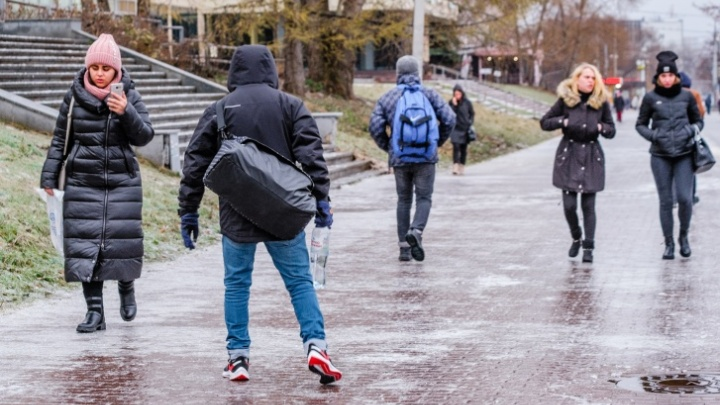 МЧС предупреждает о мокром снеге и гололедице в Прикамье