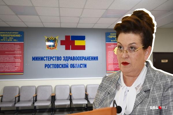 Татьяна Быковская начала карьеру с должности медсестры
