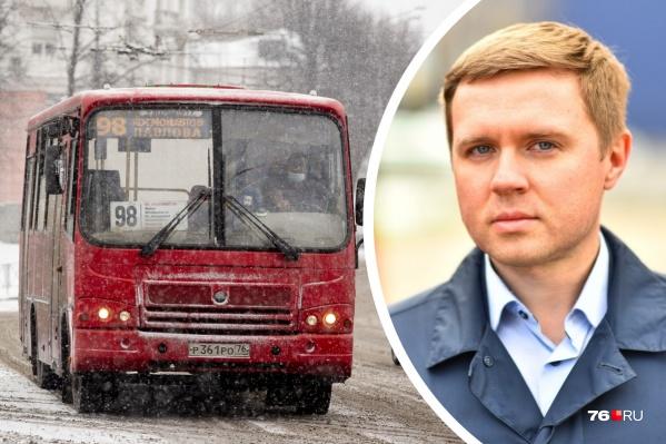 Сергей Волканевский расскажет о работе общественного транспорта в прямом эфире