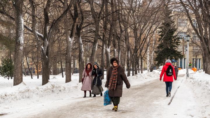 Каким будет март в Новосибирске: изучаем прогноз погоды (немного странный для весны)