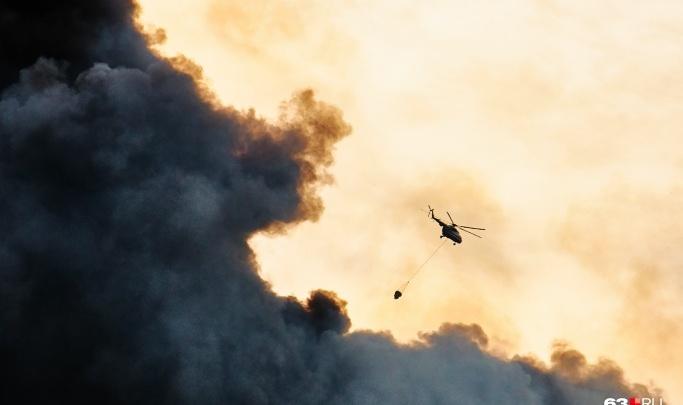 Региональные власти компенсируют затраты на тушение гигантского пожара на складах в Самаре