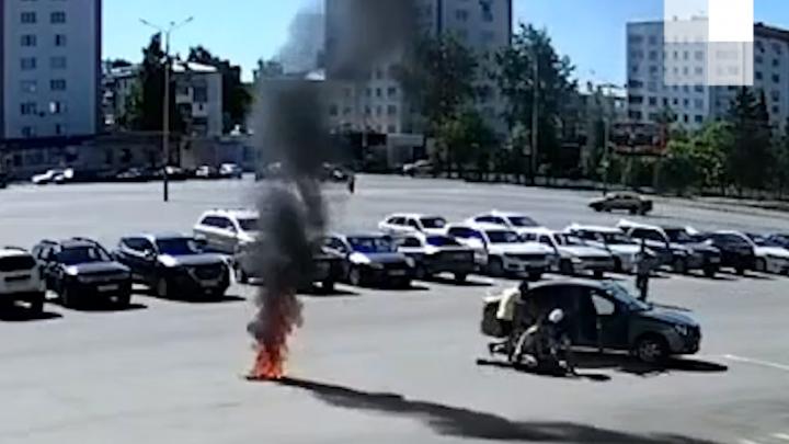 Глава города в Башкирии прокомментировал попытку суицида перед зданием администрации в знак протеста