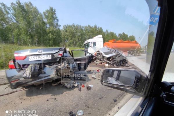 Авария произошла днем 9 августа