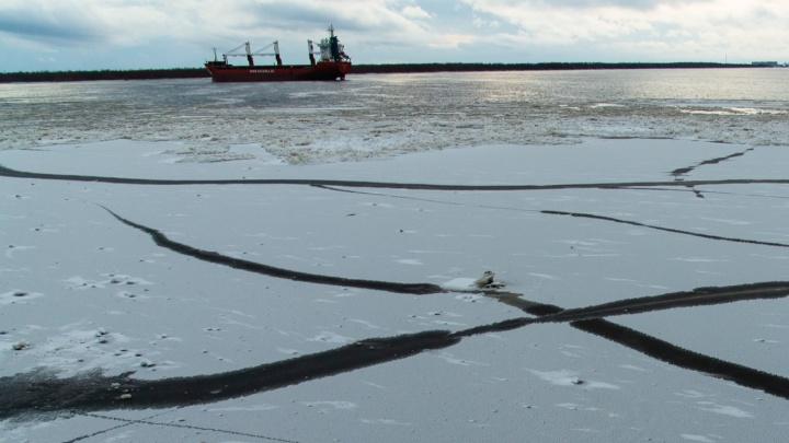 В Архангельске будут штрафовать за выход и выезд на лед
