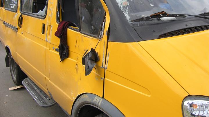В Волгограде маршрутка сбила пешехода