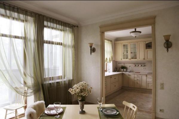 Интерьер этой квартиры напоминает кадр из фильма. Красиво, правда?