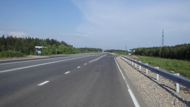 На М-8 рядом с посёлком Дорожников произошло ДТП. Умер мужчина и пострадал ребенок