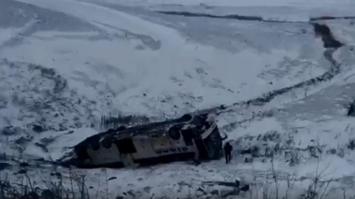 СК России проводит проверку по факту аварии с волгоградскими автобусами под Тамбовом — видео