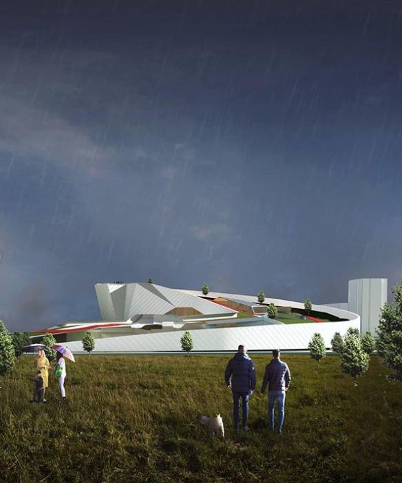 Центр экстремальных видов спорта планируют построить по соседству с ТРК «Аллея»