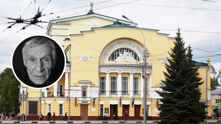 «Настоящий артист и настоящий мужчина»: в Ярославле скончался актёр Волковского театра