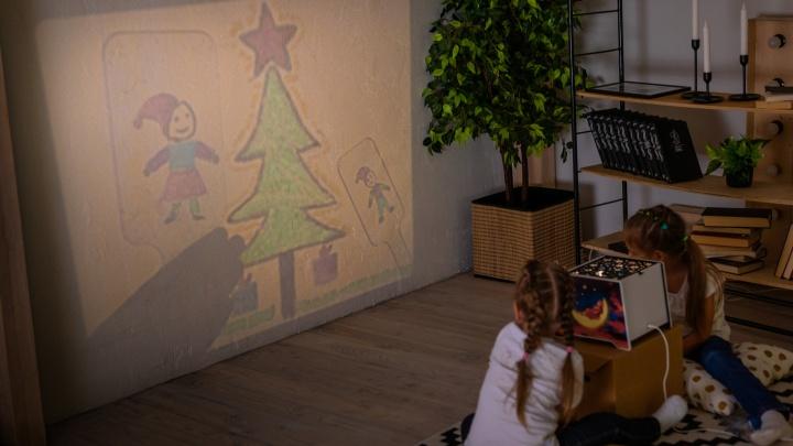 Красноярец изобрел ночник, проецирующий детские рисунки на стену, и открыл серийное производство