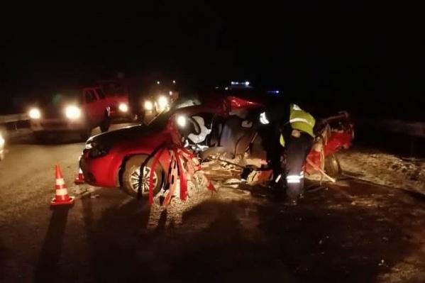 В аварии погиб один человек, еще пять получили травмы