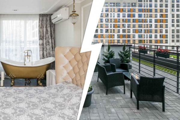 Квартира с собственным выходом на террасу может стать вашей за несколько десятков миллионов рублей