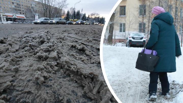 Цыбульский прошелся по нечищенным улицам Архангельска и не нашел добрых слов
