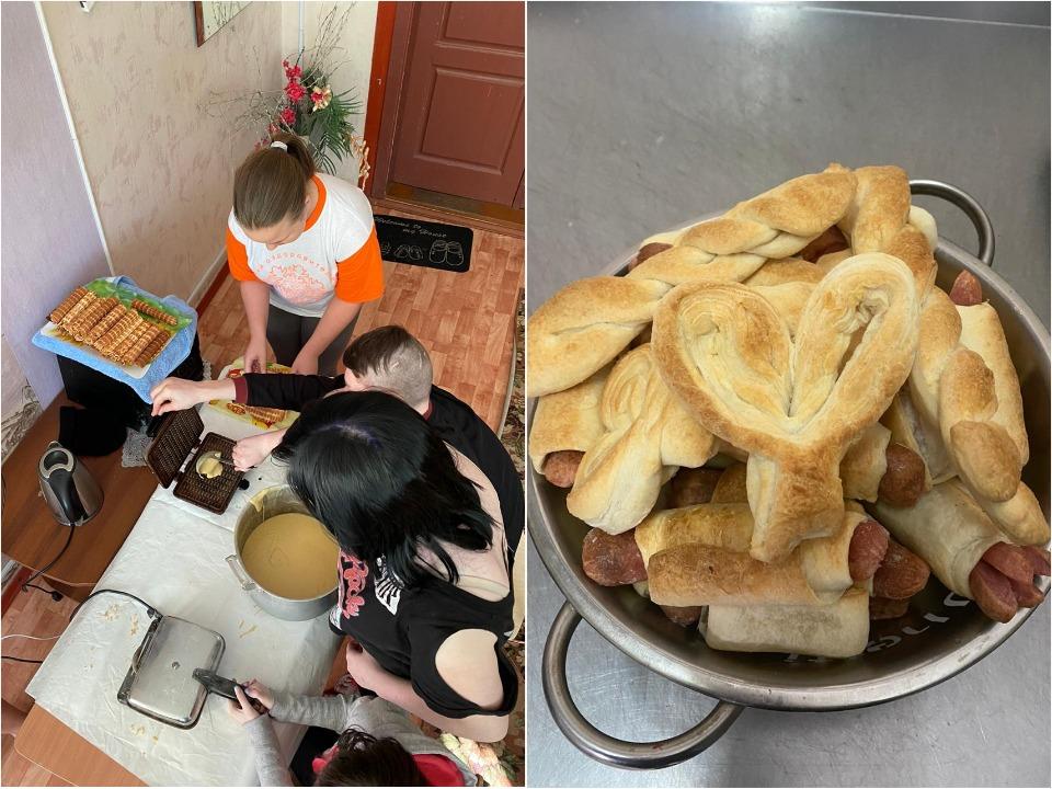 Самое любимое занятие у детей — готовка
